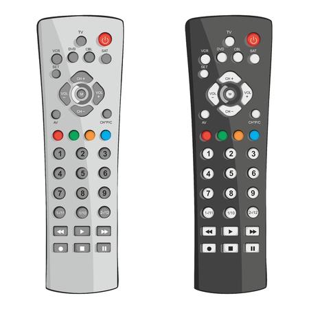 illustration entièrement modifiable télécommande Vecteurs