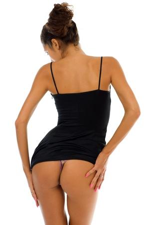 woman panties: Woman Stock Photo