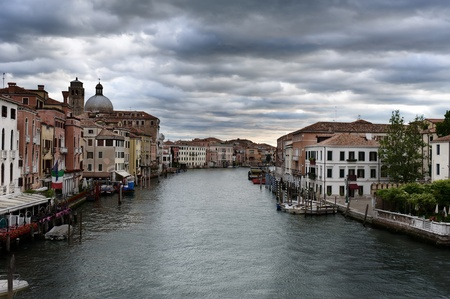 Venice. The urban landscape. View of Canal Grande photo