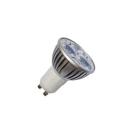 LED energy safing bulb. Light-emitting diode. Isolated object photo