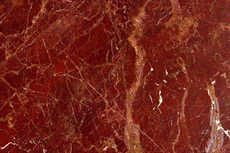 """modello naturale di marmo rosso marrone lucido fetta minerale. """" Diaspro Rosso """" ad altissima risoluzione. Sfondo. Archivio Fotografico"""