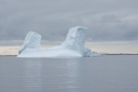 Iceberg in the Southern Ocean in summer. photo