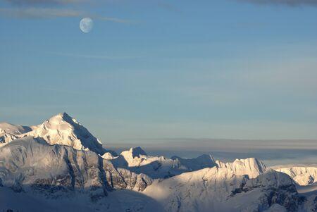 antarctic peninsula: Mountainous western coast of the Antarctic Peninsula summer sunny day.