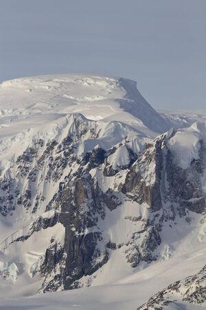 antarctic peninsula: mountains and glaciers western Antarctic Peninsula