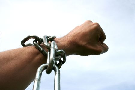 subservience: Hand in chains