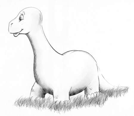 prehistorical: Dinosaurdino Stock Photo