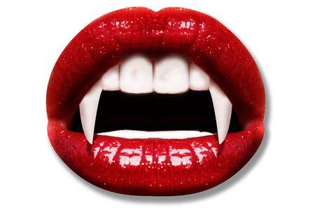 vampire teeth: Vampire Stock Photo