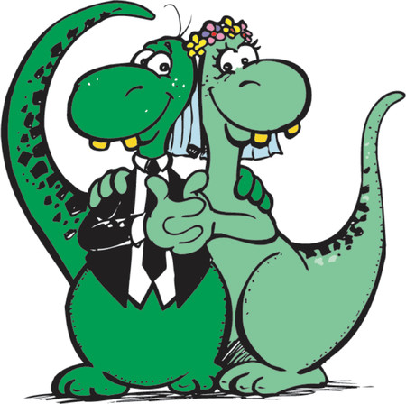 drawed: Dinosaur Marriage