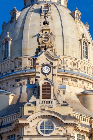 frauenkirche: Church Frauenkirche in Dresden. Germany.