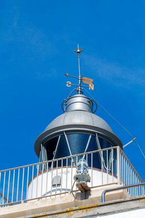 Old lighthouse in Tossa de Mar on the Costa Brava.