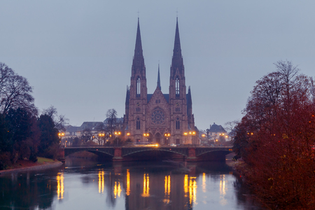 reformation: Strasbourg. The Church of the Reformation.