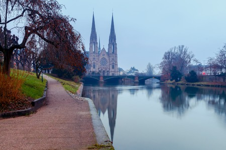Strasbourg. The Church of the Reformation.