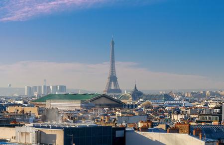 Paris. Aerial view of the city.