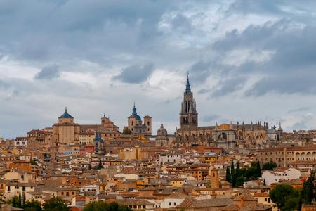 Toledo. Aerial view of the city. Stock Photo