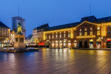 Strasbourg. Place Kleber. Standard-Bild