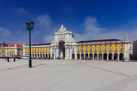Lisbon. Commerce Square.