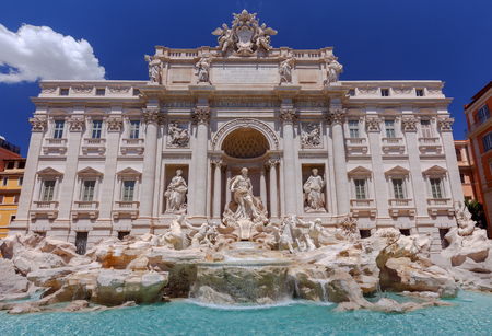 Rome. Trevi Fountain.