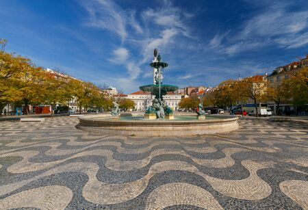 Lisbon. Rossio Square.