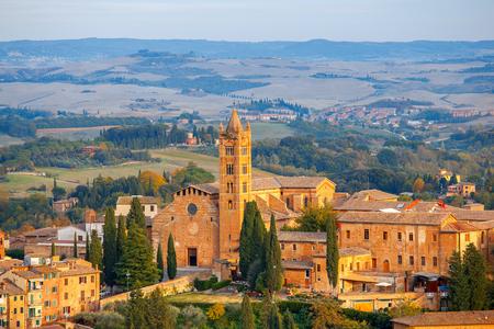 Siena. Basilica of Santa Maria dei Servi.