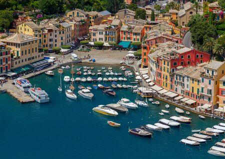 Portofino. The resort town in Liguria.