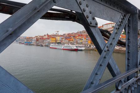 Porto. The Don Luis bridge
