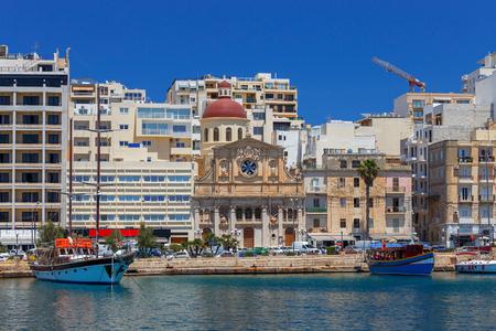 Malta. The Church of Jesus of Nazareth.