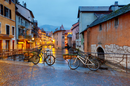 Annecy. Old city. Stockfoto