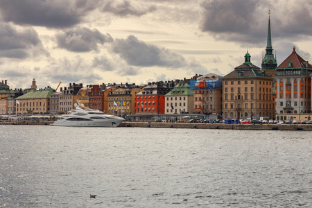 Stockholm. City embankments