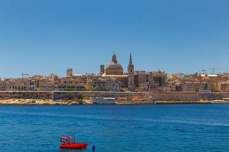 Valletta. St. Pauls Cathedral. Archivio Fotografico - 115531522