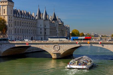 Paris. City embankment.