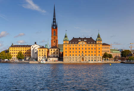 Stockholm. Gamla Stan. Banco de Imagens