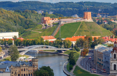 Vilnius. Aerial view of the city. Reklamní fotografie