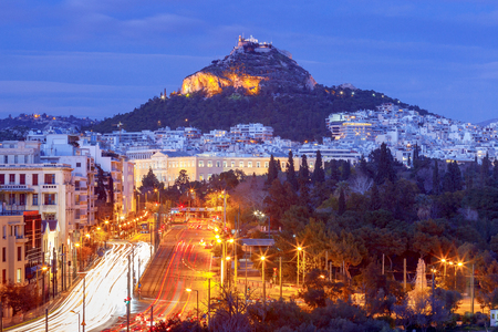 Athens. Aerial view of the city. 写真素材