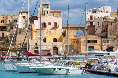 Italy. Sicily. Castellammare del Golfo. 写真素材