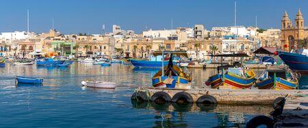 Panorama of the harbor and village Masashlokk.