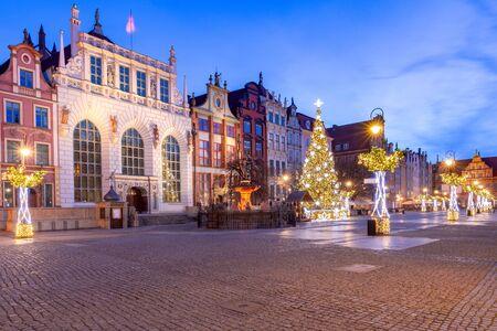 Gdansk. Long market. Standard-Bild