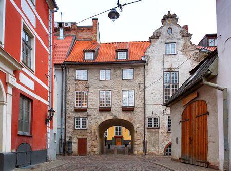 Riga. The Swedish Gate.