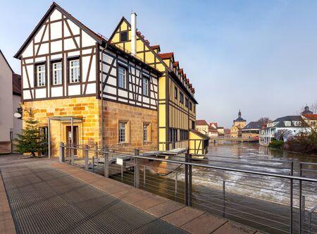 Bamberg. Old city dam.