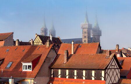 Rothenburg ob der Tauber. Old famous medieval city.