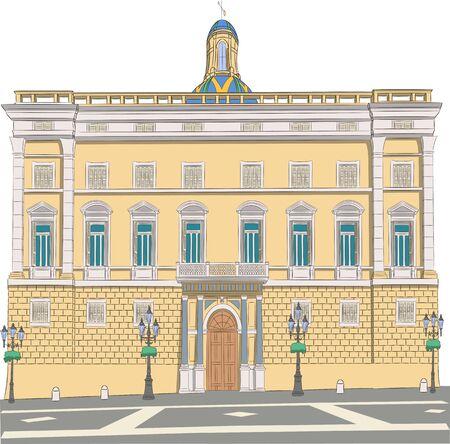 Barcelona. Government House.