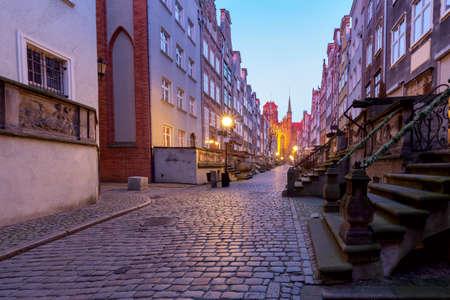 Gdansk. Famous Mariack Street.