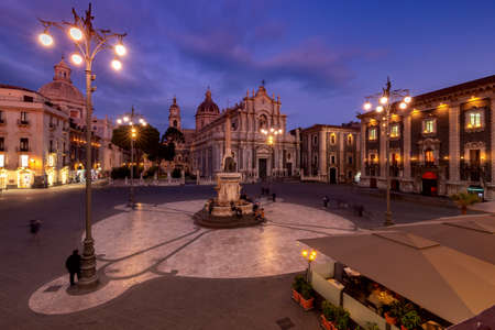 Catania. Cathedral of St. Agatha.