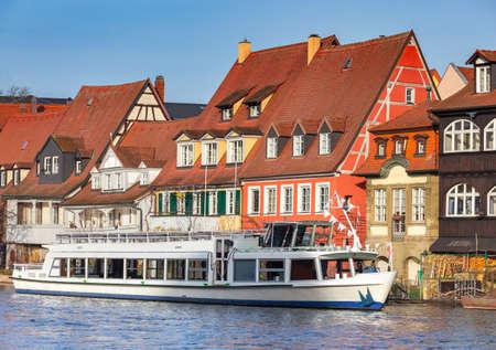Bamberg. Little Venice district. Standard-Bild