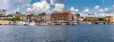 Stockholm. City embankments