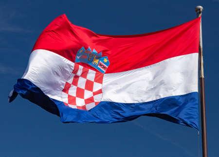 Split. National state flag.