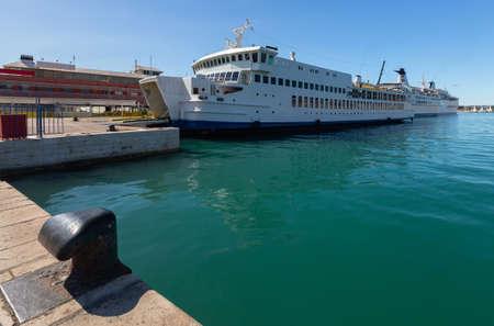 Split. Sea passenger port.