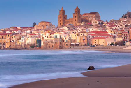 Cefalu. Sicily. Old city.