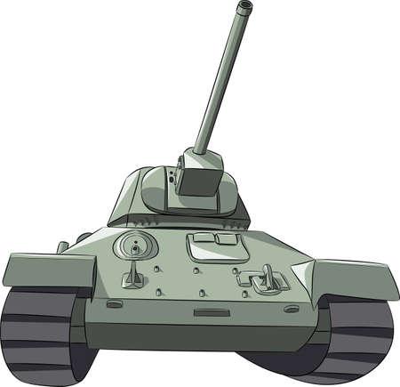 Medium tank of the second world war.