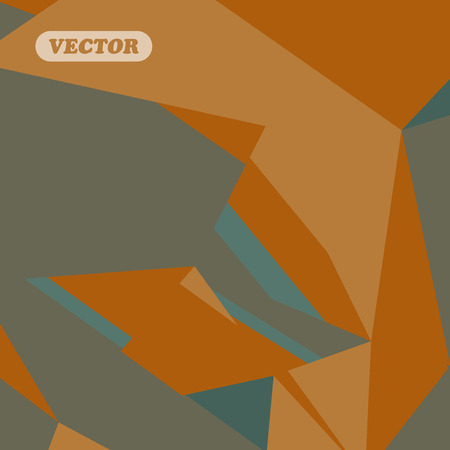 sides: Abstract colorful triangles - Vector background