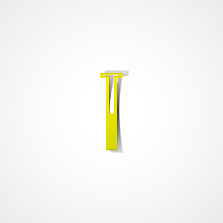 a substance vial: Test tube web icon on white background